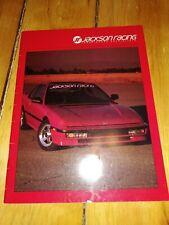 1991 Jackson Racing Catalog Honda Acura Tuning Specialist CRX Civic Si Prelude