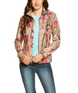 Ariat Womens Crusade Jacket in Hot Leaf
