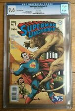 Superman Unchained #2 Frank 1:75 Variant CGC 9.6
