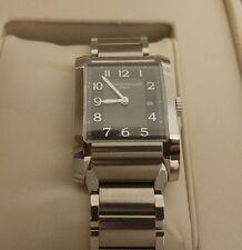 Baume & Mercier Hampton Classic Ladies Charcoal Dial Swiss Quartz Watch 10021
