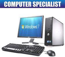 """PC de bureau Windows 7 Dell 17"""""""