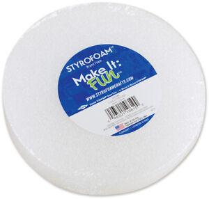 "Floracraft-Styrofoam Disc-6""X1.25"""