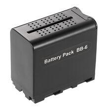 6pcs AA BB-6 NP-F550/750 Battery Case Power Pack For Video Light YONGNUO NANGUAN