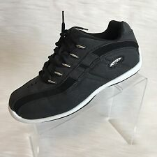 lugz men's sneakers tennis shoes black leather size 9