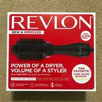 Revlon Pro Collection One Step Hair Dryer And Volumizer Hot Air Brush Black/Pink