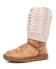 UGG Tularosa Route Detachable Women's Suede Chestnut Boot Sz 6 4411 *
