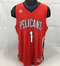 Men s 2XL Adidas New Orleans Pelicans Tyreke Evans Swingman Jersey a588e18c7