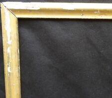 N° 542 CADRE baguette à poser bois sculpté XVIIIème siècle   64,5 x 55 cm