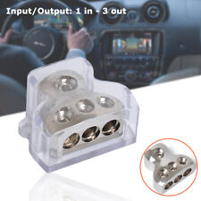 1 In 3 Ways Distribution Block Car Audio Cable Conversion Line Power Splitting