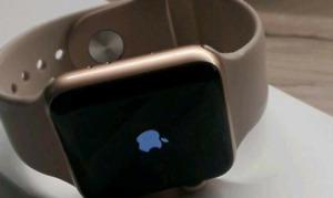 Apple Watch Series 3 38mm Aluminiumgehäuse in Gold GPS +  Rechnung + Garantie