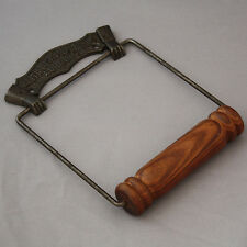 Antique Iron Wire Toilet Roll Holder