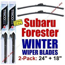 WINTER Wiper Blades 2-Pack Premium - fit 2009-2013 Subaru Forester - 35240/180