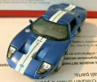 "Kinsmart 1:36 Scale 5"" 2006 Ford GT Diecast Model Toy Car New Blue"