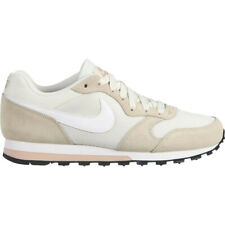 Womens Nike MD Runner 2 Suede Trainers Cream UK 4  US 6.5  Eu 37.5 New £70
