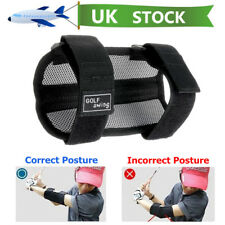 Golf Straight Swing Practice Training Aid Elbow Support Brace Arm Band Trainer