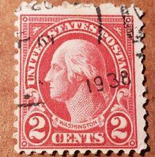 GM13 WASHINGTON 2 CENT USED STAMP