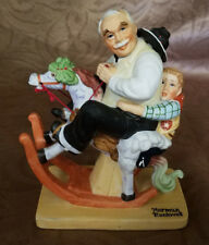 Norman Rockwell Figurine Gramps At The Reins (Circa 1980)