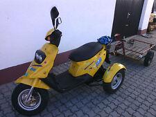 Dreirad-Mofa,Moped,PGO,Roller,Anhänger,Oldtimer,Krankenfahrstuhl,
