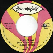 """Chicago Up-tempo McKINLEY MITCHELL """"A Bit Of Soul"""" ONE-DERFUL VG+&VG Deep B-side"""