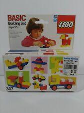 Vintage 1987 Lego Basic Set #307 old stock NIB