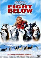 Sled Dogs Antarctica Winter True Life Survival Story Eight Below DVD Full Screen