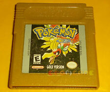 POKEMON GOLD VERSION (Batteria Scarica) Game Boy Color Oro Americano CARTUCCIA