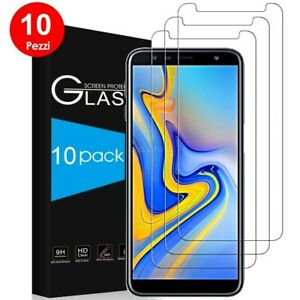 Film Tempered Glass for Samsung Galaxy J6+ Plus Ultra Clear 9H -10 Pieces
