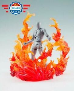 Burning Effect Flame D-Art For Kamen Rider Figma Action Figure Gundam Hot Toys
