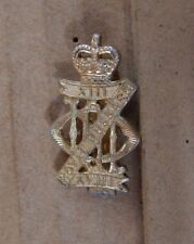 13th /18th Hussars Cap Badge Staybrite Anodised 1980's Gaunt Of london