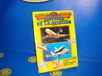 COLECCIONISMO-ALBUM DE CROMOS- GRAN HISTORIA DE LA AVIACION-1985 descatalogado