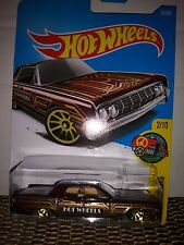HOT WHEELS 2015 64 LINCOLN CONTINENTAL HW ART CARS 2/10