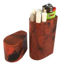 Smoke Space - Cigarette Case - Lighter - Smoking Accessories - (Orange/Black)