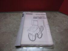 87 Maho MH600 E geometrische Paket Manual Guide 432 NR.76.00462-01/85 Betrieb