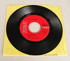 Elvis Presley 447-0663 Guitar Man / Hi-Heel Sneakers Rare Red Label ** Mint- **