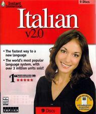 Learn Speak Understand Italian Language 4 Audio Cds Set (listen in your car)
