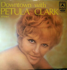 PETULA CLARK LP RECORD DOWNTOWN WITH PETULA CLARK MADE IN AUSTRALIA 1972