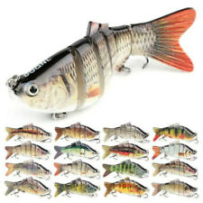 8 Segment Multi Jointed Fishing Lures Fishing Bait Crankbait Hook Swimbait Hooks