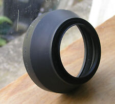 genuine nikon HR-2 HR2 rubber lens hood for 55mm f1.2  52mm screw in ( japan)
