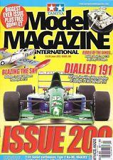 Tamiya Model Magazine #200 Jordan191 Hobbyboss F-84 Thunderjet Honda VF750F T-55