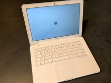 "Apple Macbook Blanco 13,3"" Core2duo 2.4 2gb RAM 500GB HDD High Sierra"