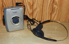 Coby Stereo Cassette Walkman Am/Fm With Headphones Cx-49 Radio Cassette Player