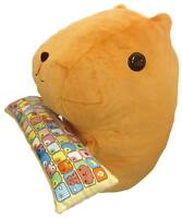 Bandai Capybara-San PC Cushion Doll Stuffed from Japan F/S