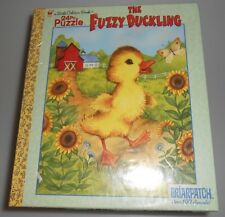 Little Golden Book Puzzle The Fuzzy Duckling 24 Pieces New Sealed