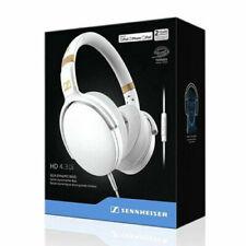 Sennheiser Over-Ear Headphones for Apple iOS - White (HD 4.30I) with Warranty