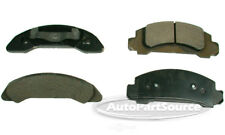 Disc Brake Pad Set-Semi-Metallic Pads Front Tru Star PPM326