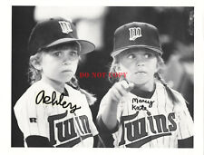 OLSEN TWINS (MARY KATE AND ASHLEY)--SIGNED 8x10 PHOTO full house Reprint