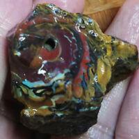 Marvelous 176.35CT +VIDEO uncut Australian  Boulder Opal ROUGH