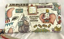 NWT New Disney Dooney & Bourke Dumbo Zip Wallet