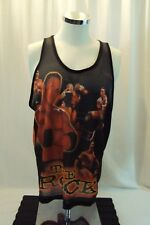 THE ROCK DWAYNE JOHNSON WWF MENS SHIRT MUSCLE TANK TOP SHIRT-XL VINTAGE