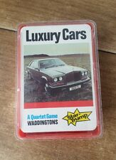 Complete Waddingtons Star Top Trump Playing Cards Luxury Cars 70's Quartet Game